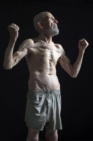 Antiguo hombre fuerte  Foto de archivo - 470440