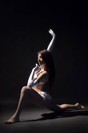 female  dancer in rmovement