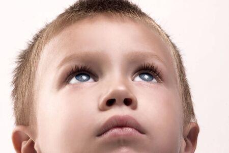 portrait of imagine boy photo