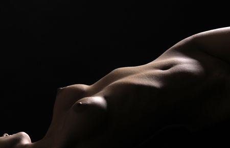body of female Stock Photo