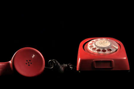 red old phone Stock Photo - 897265