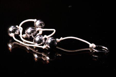 metal chrome pearls  Stock Photo - 2602952