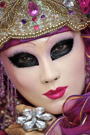 베네치아 카니발 모델