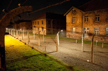 death camp: Auschwitz Concentration Camp Editorial