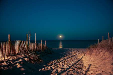 island: Moonrise Long Beach Island