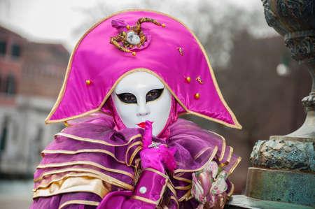 carnevale: Beautiful Carnevale Model Stock Photo