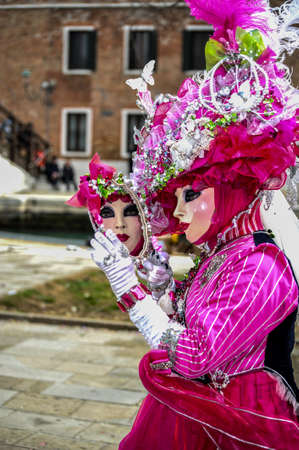 Beautiful Carnevale  Model