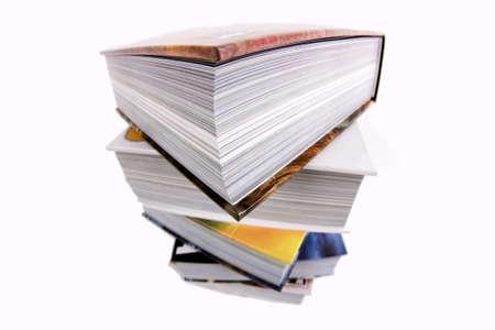 Books isolated on white Stock Photo - 4403720