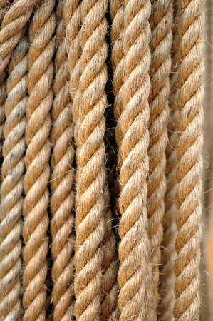 Fragment of thick rope background