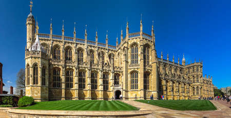 st. Georges Chapel at Windsor Castle. England