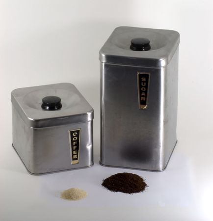 Coffee and Sugar Banco de Imagens