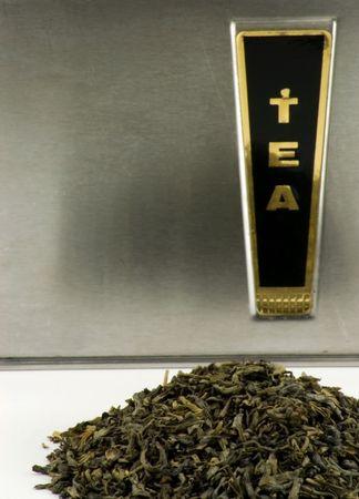 Green Tea Banco de Imagens