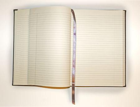 Empty Journal Stock Photo