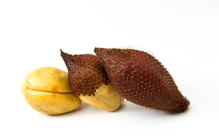 Tropical fruit name Salacca zalacca,See is all Asian zone photo