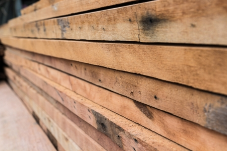 Old wood line pattern stack photo