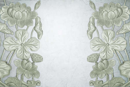 frowzy: Lotus grey color transparent for background Stock Photo