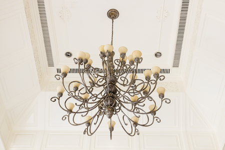 Recessed ceiling light of art photo