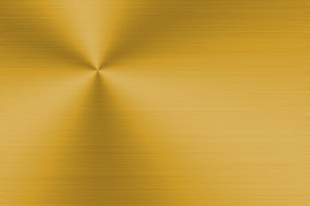 Gold metal background with realistic brushed texture photo