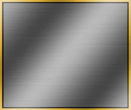scratch pad: Metal background.stainless steel of frame Stock Photo