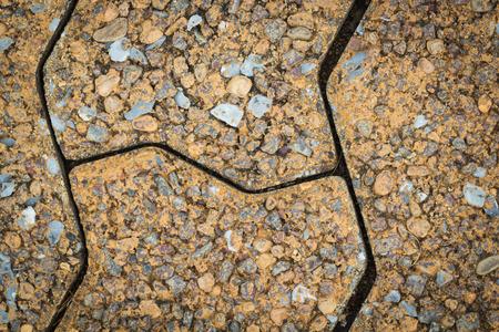 Close up brick floor texture photo