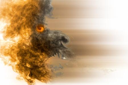 doom: Burn smoke devil abstract