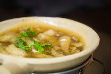 maw: Fish Maw Soup on hot pot