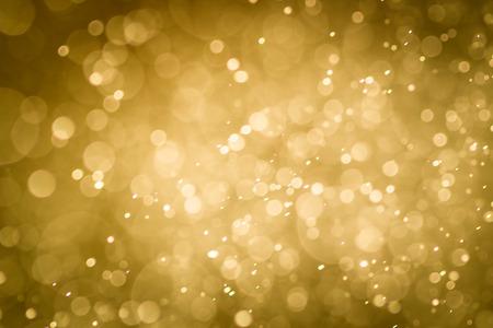 shiny gold: Abstract  bokeh