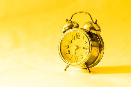 clang: Old clock.retro vintage