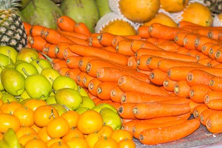 carot: Carot with mix fruit