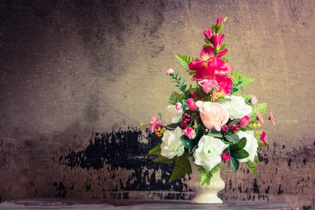 still life flowers: Still life flowers in a vase