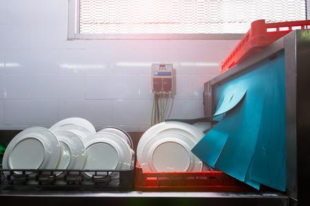 lavaplatos: de limpieza para lavavajillas con calor