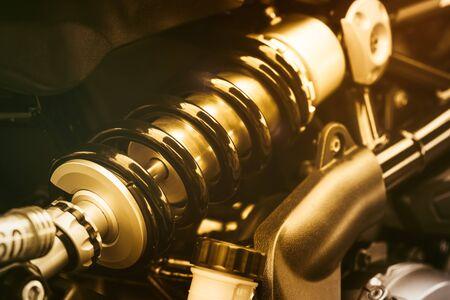 damper: shock absorber motorcycle