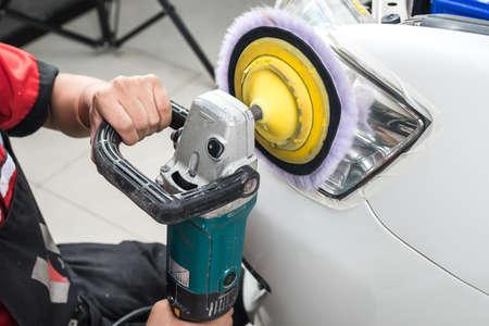 ar: ar polishing series : Headlight polishing