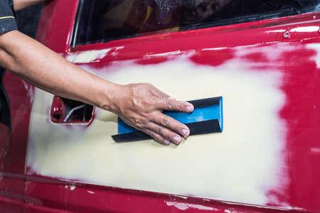 Auto body repair series : Sanding putty