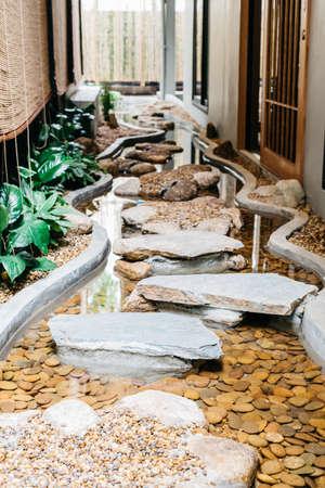 ryokan: Onsen series : Stone walkway