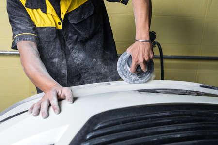 auto repair: Auto body repair series : Sanding