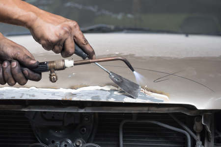scrubbing: Auto body repair series : Scrubbing
