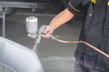 auto repair: Auto body repair series : Painting