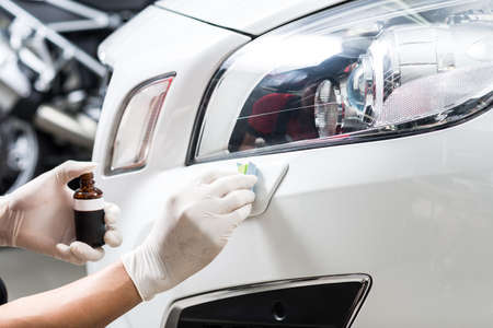 Car polishing series : Glass coating Standard-Bild