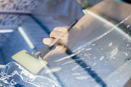 tinting: Car window tinting series Stock Photo