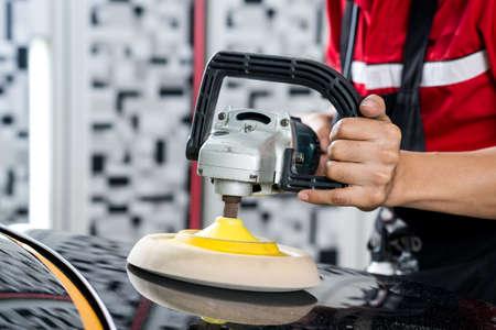buffing: Car polishing series : Polishing black car