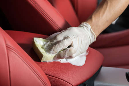 Car polishing series : Cleaning car seat