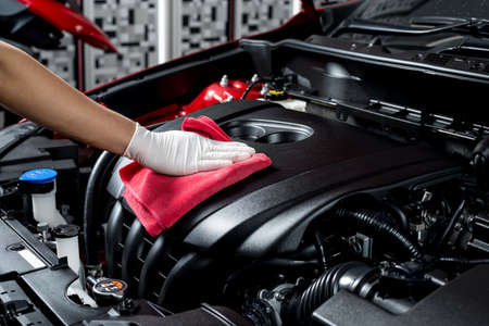 fix: Car polishing series : Cleaning car engine