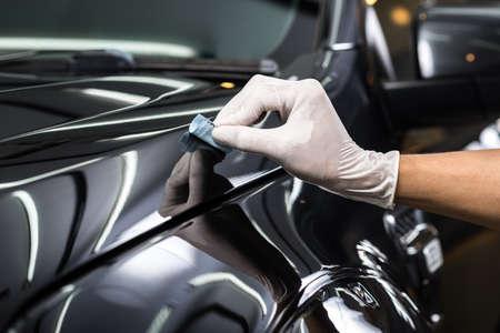 Car detailing series : Glass coating Фото со стока - 54941164