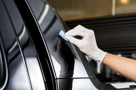 polisher: Car detailing series : Glass coating