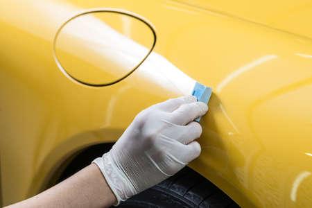 Car detailing series : Glass coating Фото со стока - 55878435