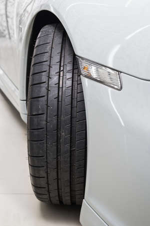 detailing: Car detailing series : Clean car tire