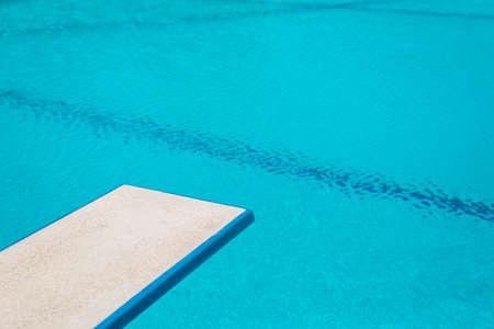 springboard: Natación piscina serie: Trampolín