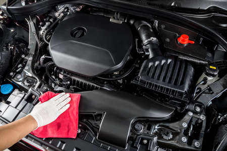 Car detailing series : Cleaning car engine