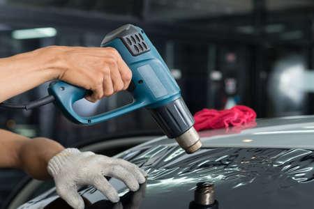 tinted: Car window tinting series : Heat shrinking window film